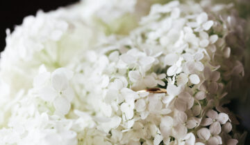 Hydrangeas Wedding Bouquet