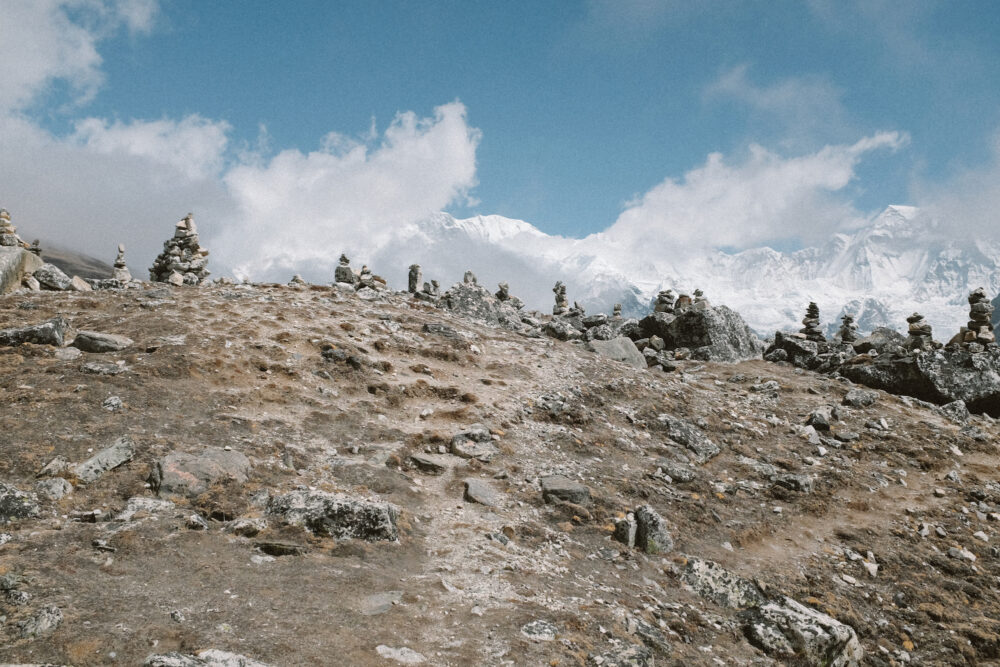 Nepal Cairn Inspiration