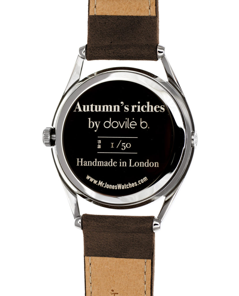 dovile b autumn's riches collaboration watch