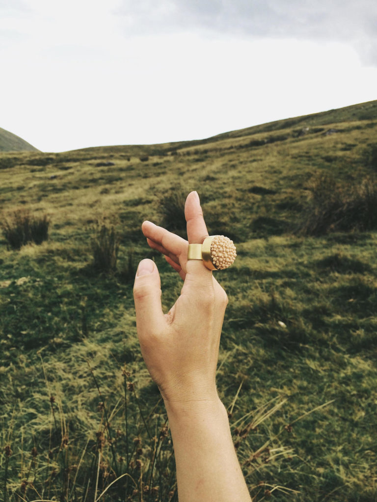 dovile b wales ring statement inspiration