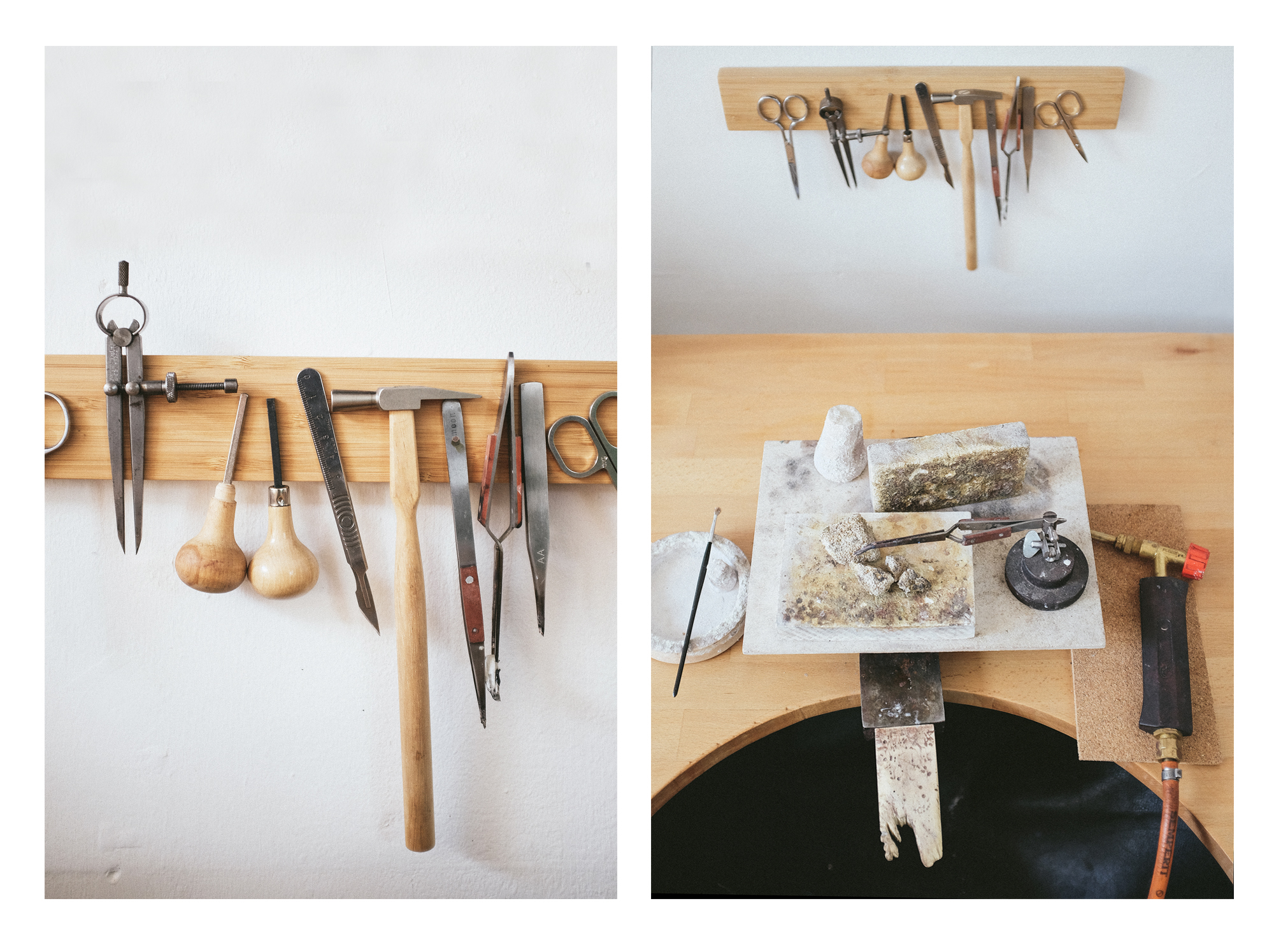How to make your own jewellers workshop bench?