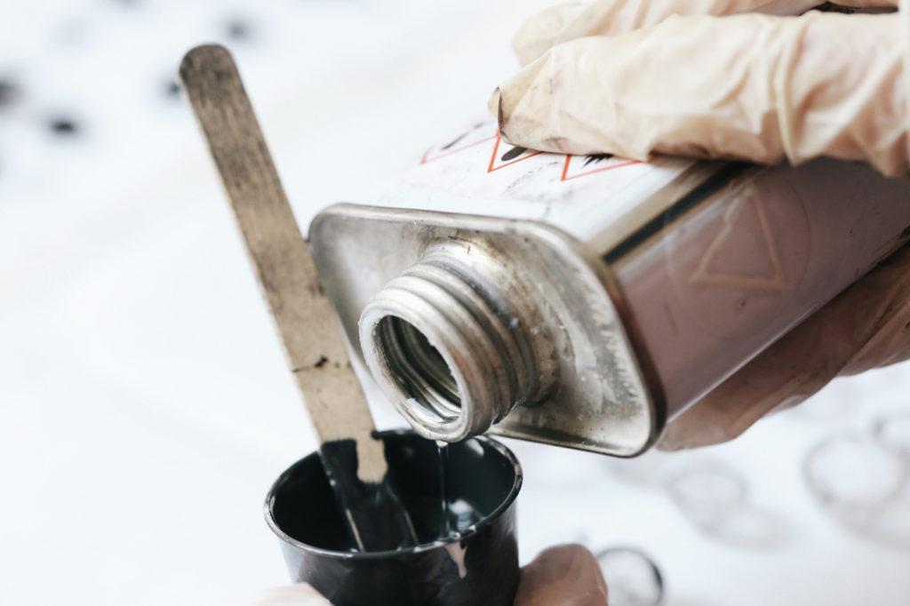 dovile b making process silicone