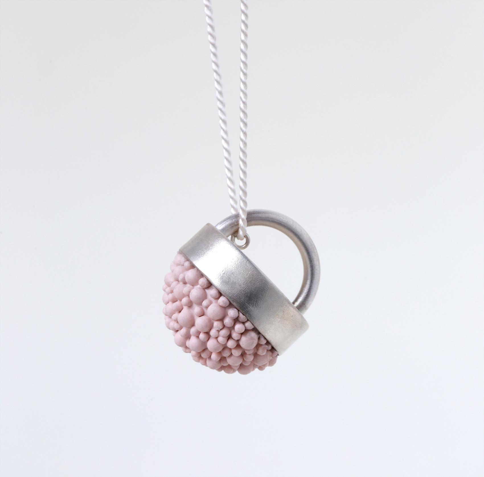 dovile b. silicone blush pink pendant