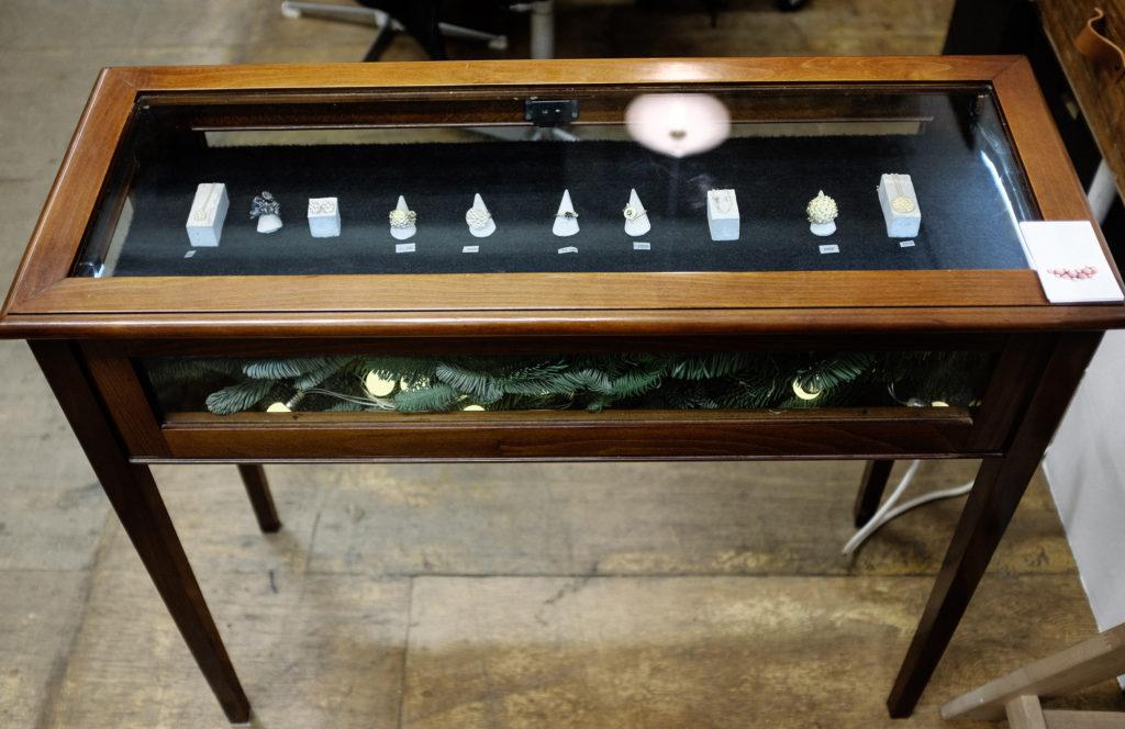 dovile b studio mission display cabinet