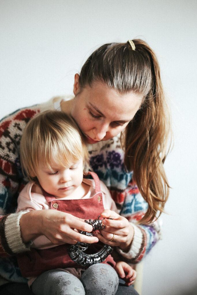 Dovile Bertulyte jewellery business and motherhood