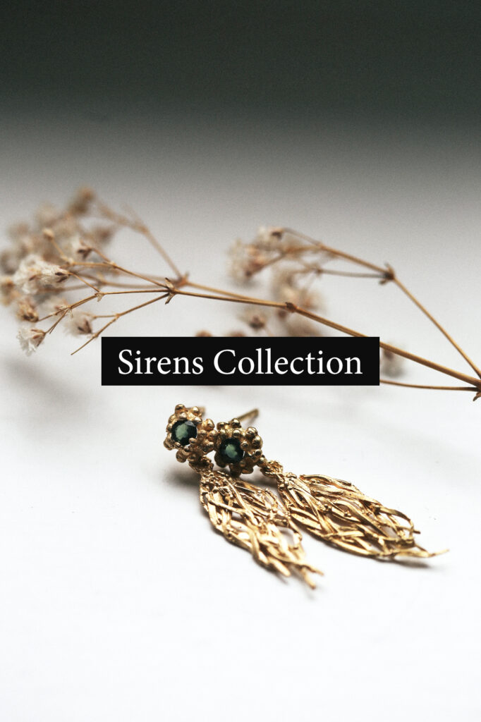 dovile_bertulyte_jewellery_sirens_collelction_gold_earrings_with_sapphire