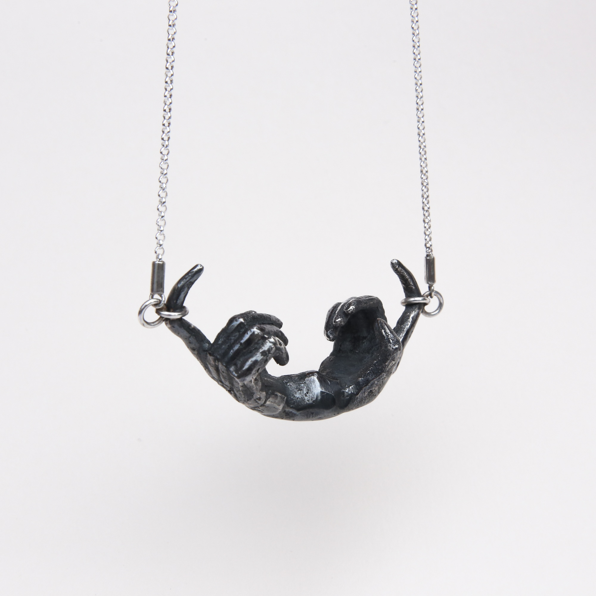 Phobia | Double Hand Necklace