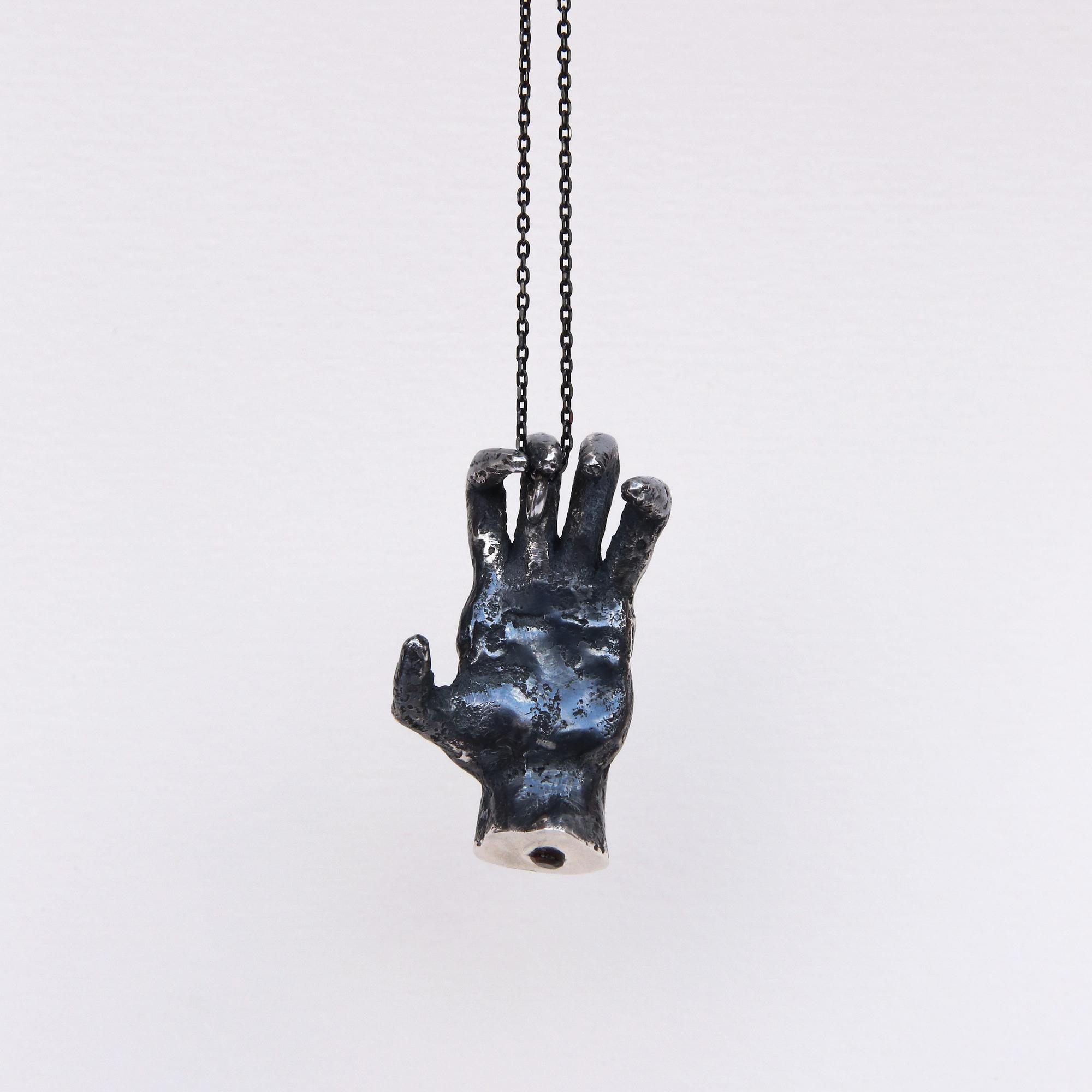 Phobia | Grabbing Hand Pendant