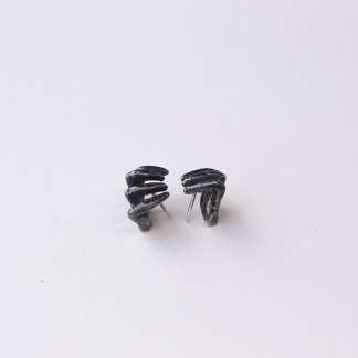 Phobia | Grabbing Hand Stud Earrings
