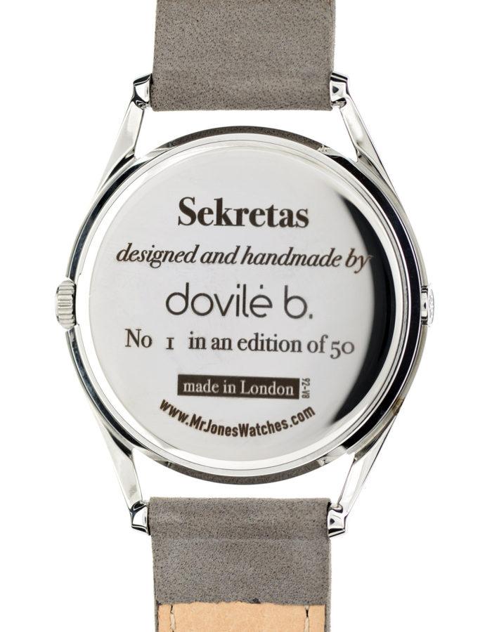 dovile b. for Mr Jones Watches | Sekretas