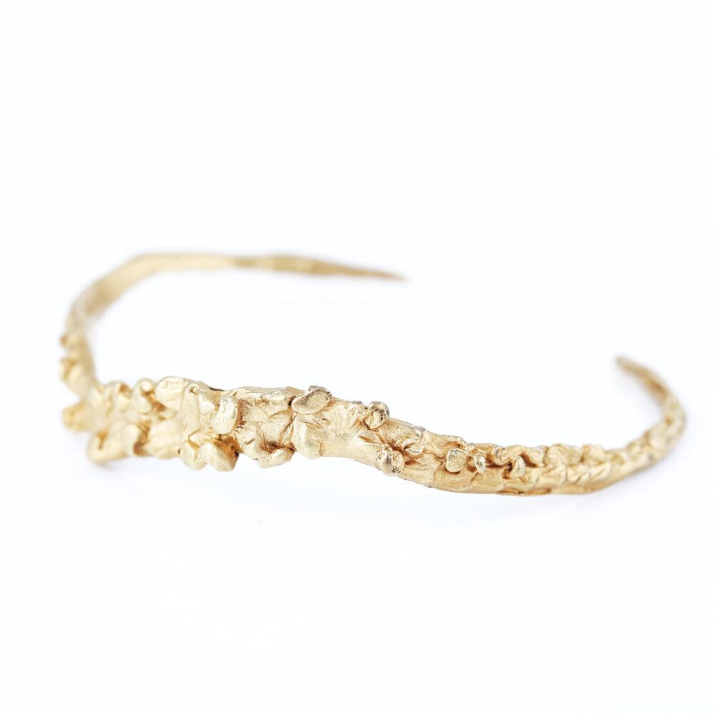 dovile b. nautilus statement gold cuff