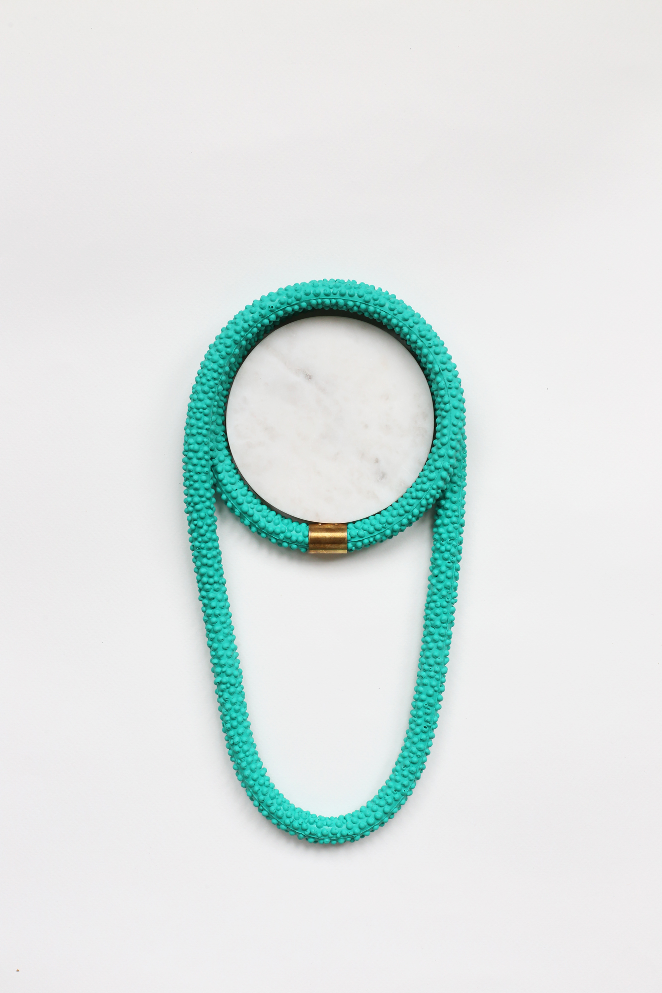 Nautilus | Statement Silicone Necklace | Green